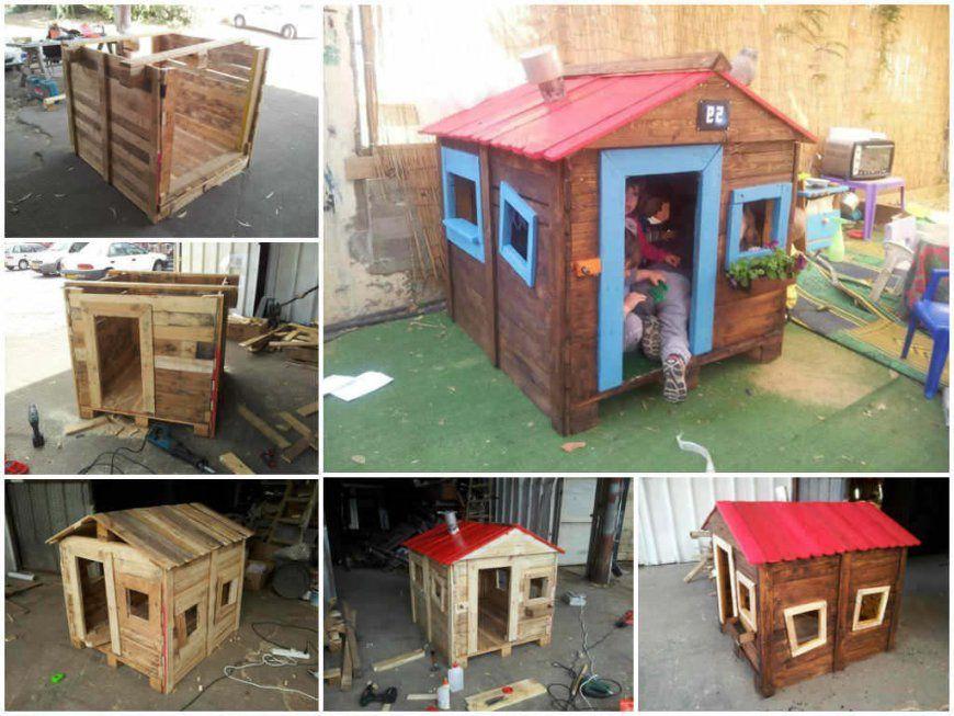 Spielhaus Für Den Garten Selber Bauen Diy Anleitung  Diy Garten von Spielhaus Kinder Selber Bauen Photo