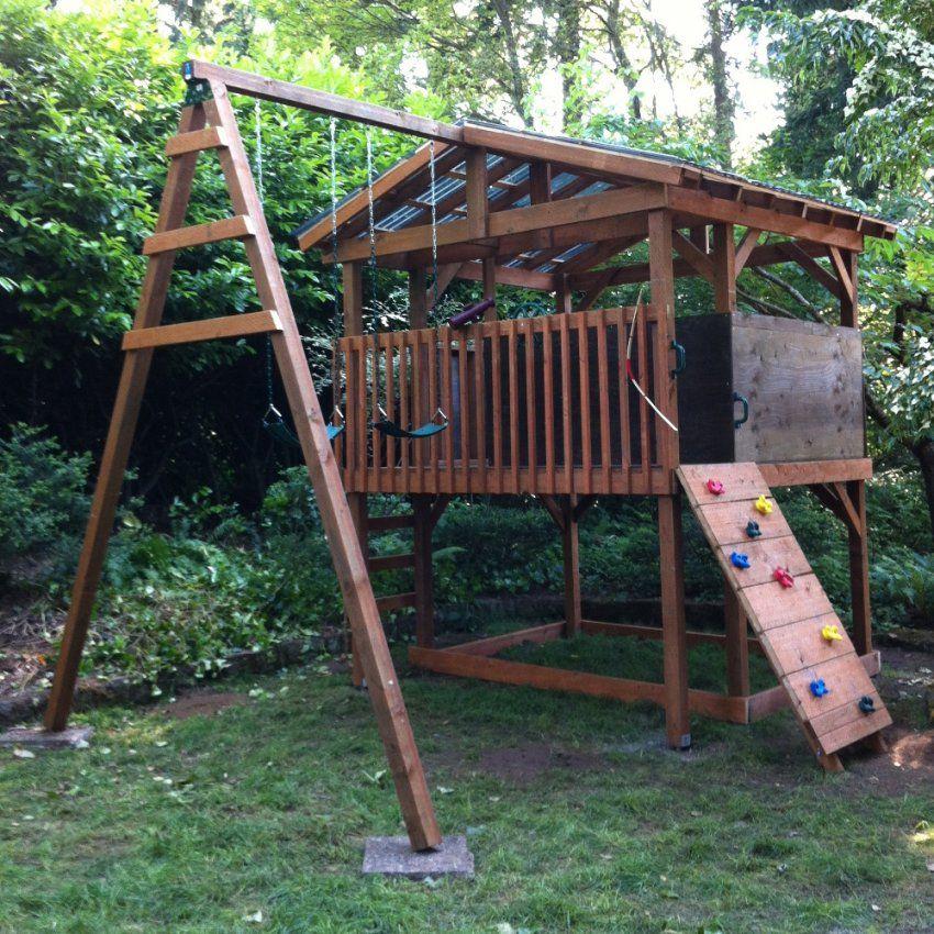 Spielturm Und Klettergerüst Bauen Bauanleitungen Für Spielgeräte Im von Spielgeräte Garten Selber Bauen Photo
