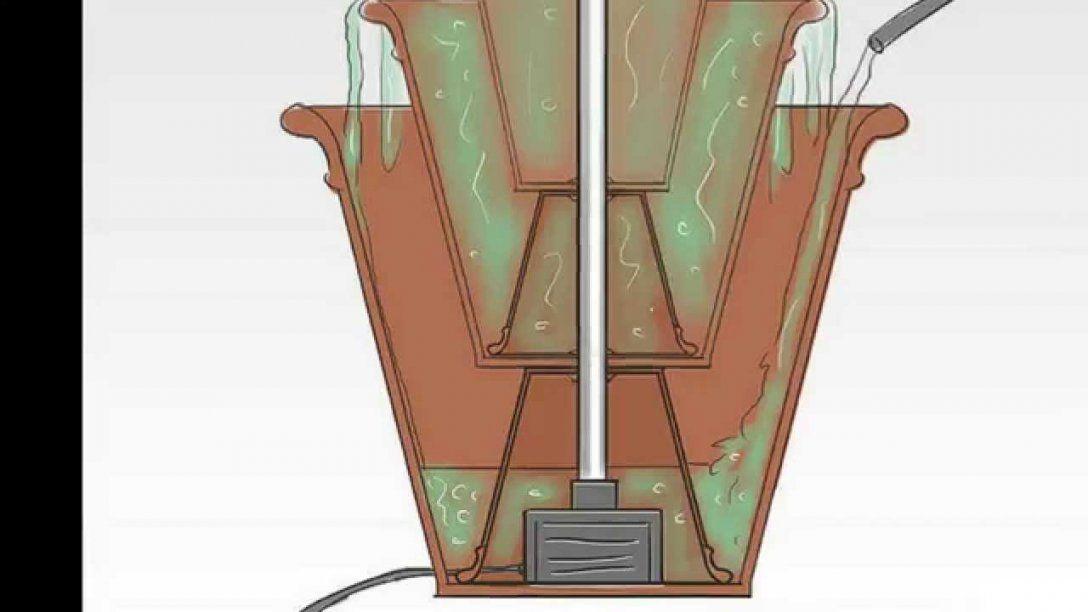 Springbrunnen Selber Bauen Springbrunnen Bauen  Youtube von Balkon Brunnen Selber Bauen Bild