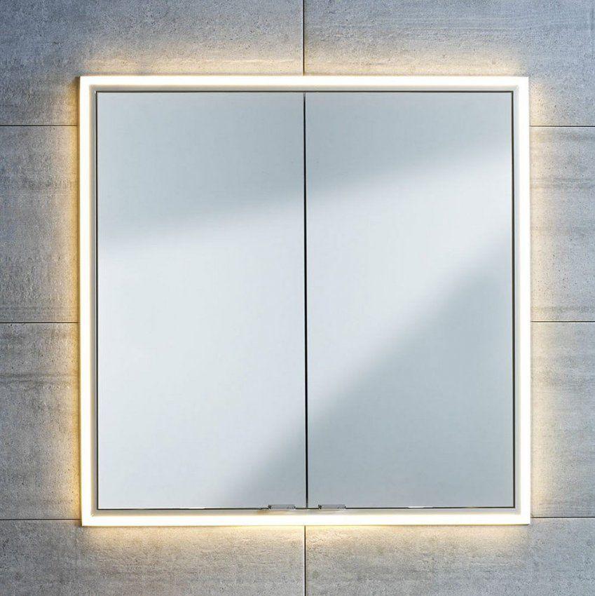Sprinz Einbauabdeckrahmen 110 Cm Mit Ledbeleuchtung  Megabad von Spiegelschränke Mit Led Beleuchtung Bild