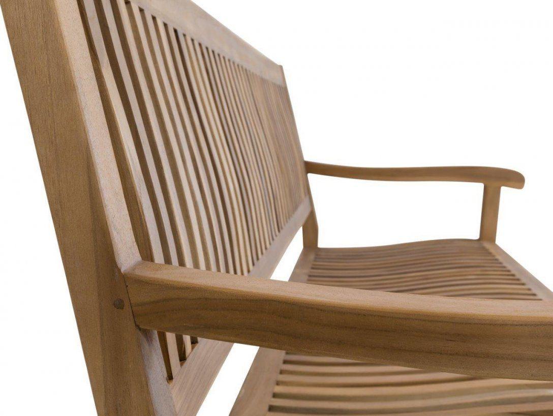 Stabile 4Sitzer Gartenbank Kingsbury In Premium Teak 180 Cm von Gartenbank Holz 4 Sitzer Bild