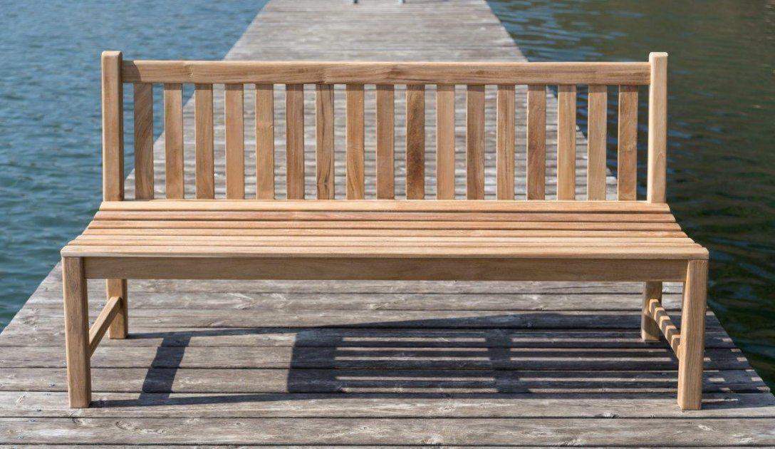 Stabile Bank Gartenbank Picadelly 180 Cm In Premium Teak Ohne Armlehne von Gartenbank Holz Ohne Armlehne Photo