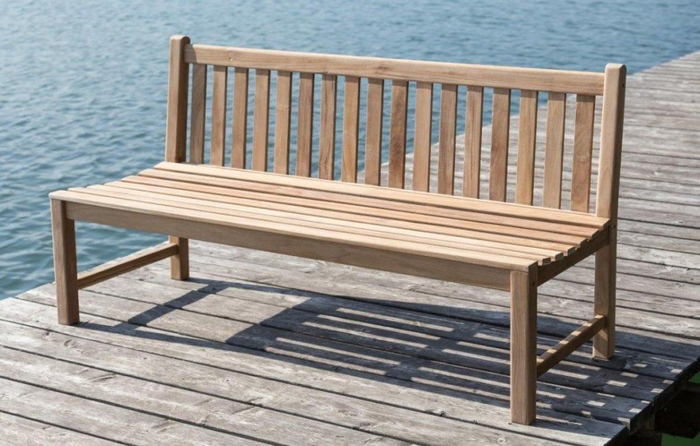 Stabile Bank Gartenbank Picadelly 180 Cm In Premium Teak Ohne von Gartenbank 180 Cm Breit Photo