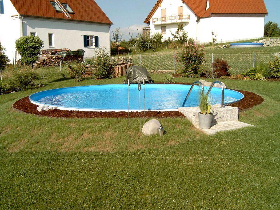 Stahlwandpool Von Stegmann Ihr Poolfachmann Aus Ried von Runder Pool Im Garten Bild