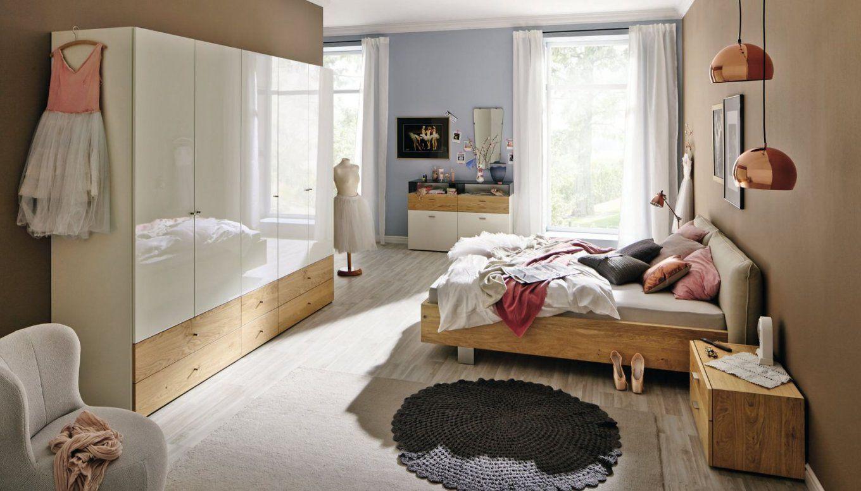 Standardbett  Doppelt  Modern  Gepolstertes Kopfteil  Now No14 von Hülsta Now 14 Bett Photo