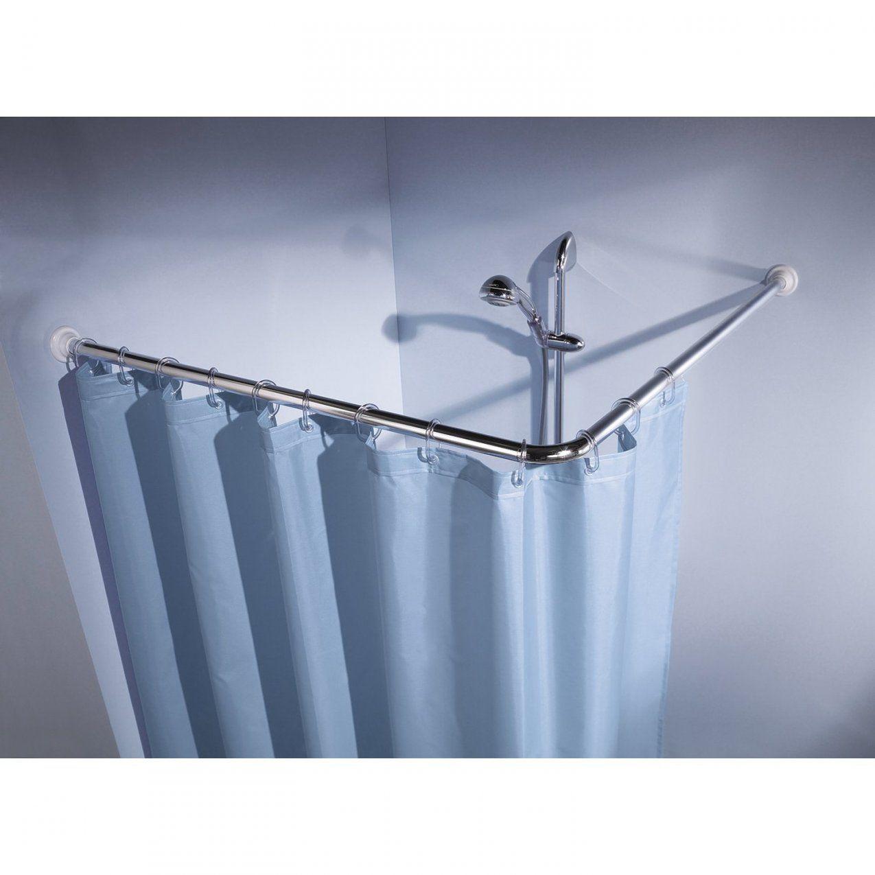 Stange Für Duschvorhang Badewanne Ao84 – Hitoiro von Duschvorhang Für Badewanne Ohne Bohren Bild