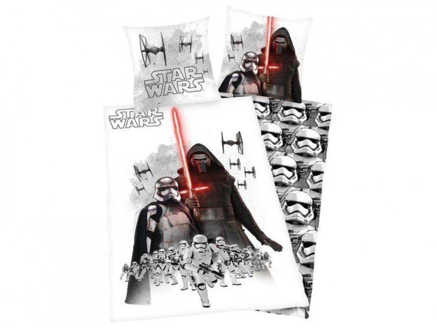 Star Wars Bettwäsche Kylo Renstormtrooper Die  Real von Kylo Ren Bettwäsche Bild