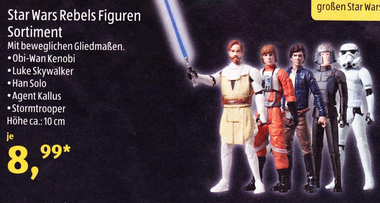 Star Wars Wochende Bei Aldi Süd Star Wars Figuren Für 899 Euro Und von Aldi Bettwäsche Star Wars Bild