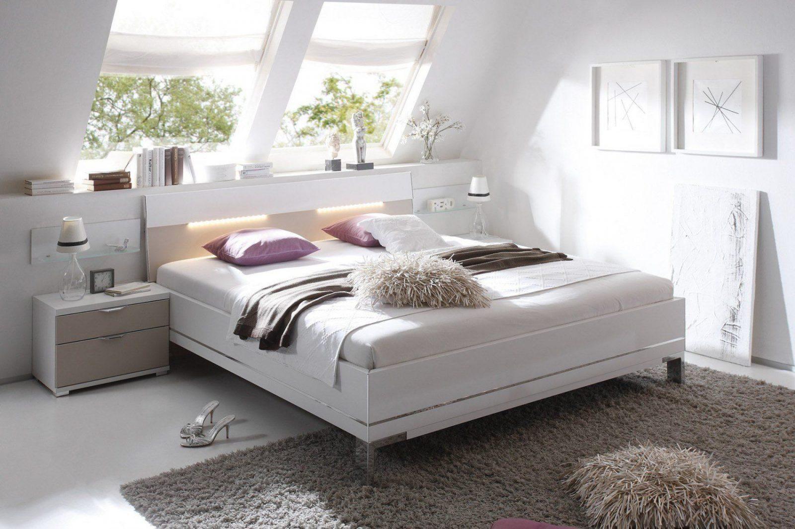 Staud Sinfonie Plus Bett Weiß  Sand  Möbel Letz  Ihr Onlineshop von Staud Sinfonie Plus Bett Bild