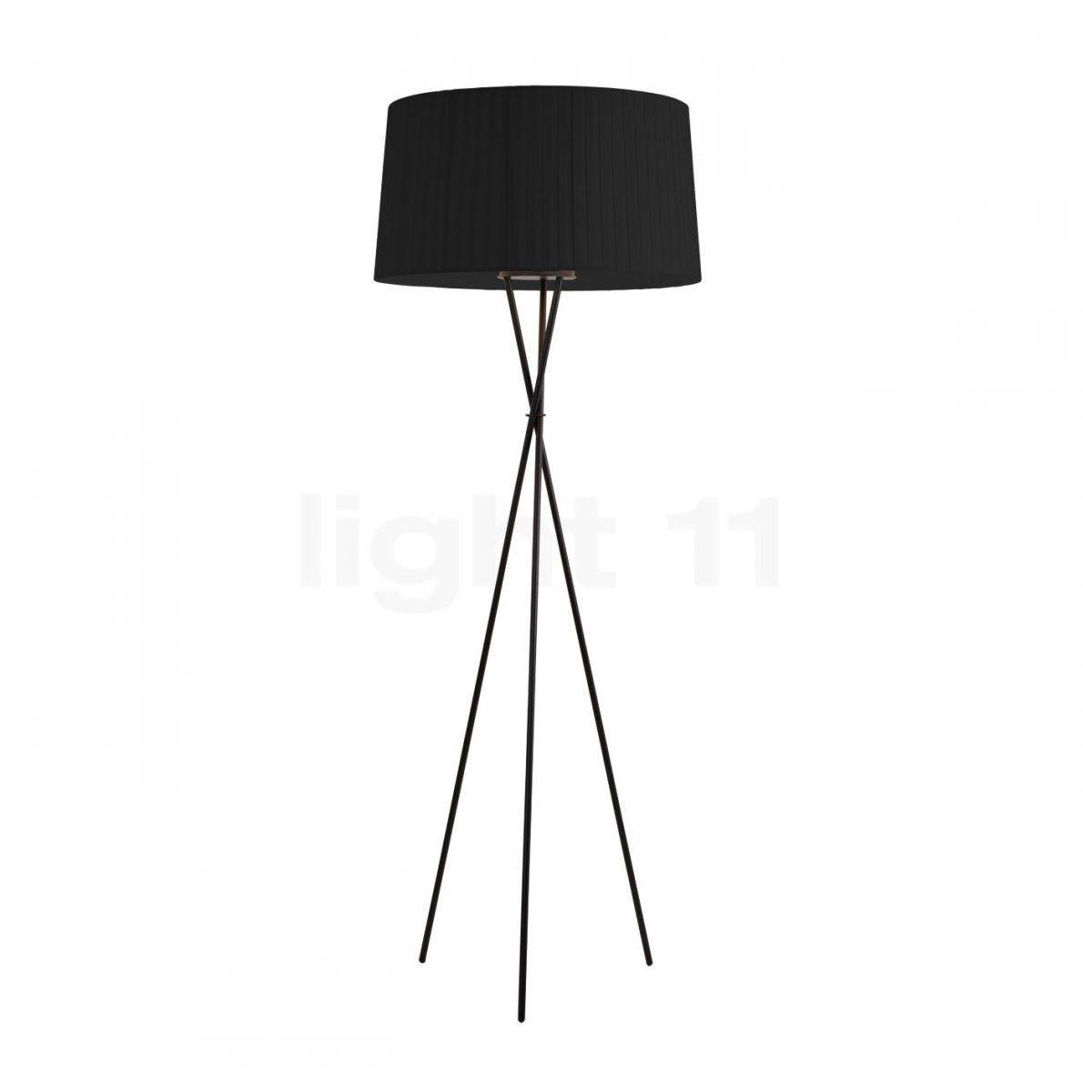 Stehlampe 3 Beine Awesome Santa U Cole Tripode G Schwarz Tgtgp With von Stehlampe Mit 3 Beinen Bild