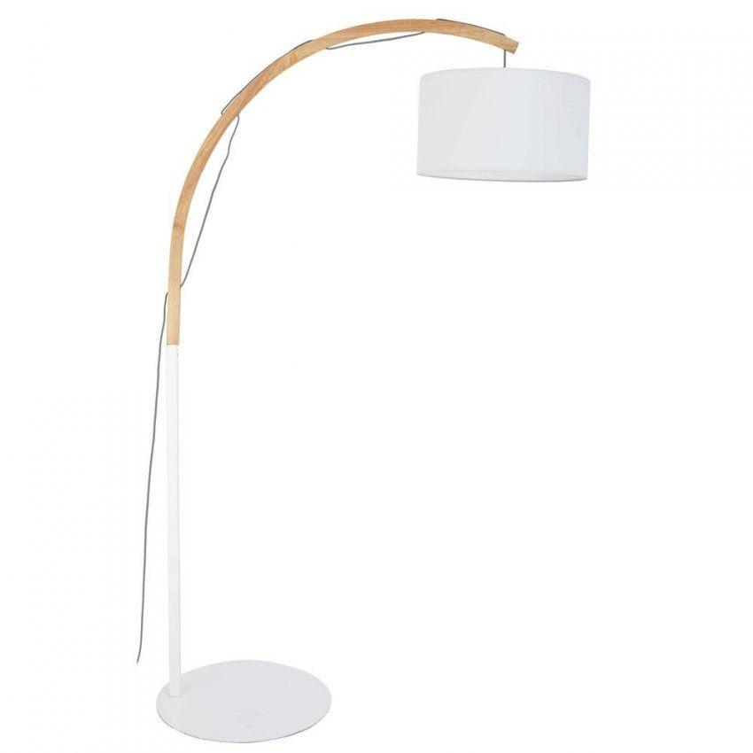 Stehlampe Mit Weißem Lampenschirm   Wohnen & Einrichten von Lampenschirme Für Stehlampen Kaufen Bild