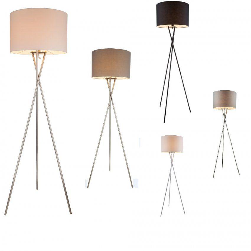 Stehleuchte Dreibein In Vielen Farbausführungen  Wohnlicht von Stehlampe Mit 3 Beinen Photo