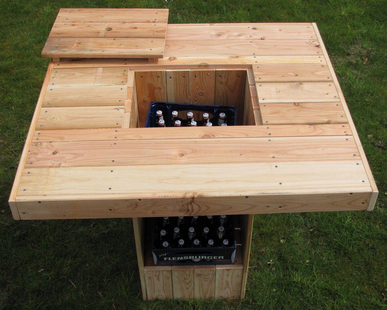 Stehtisch Für 812 Personen Und 2 Getränkekisten Partytisch von Gartentisch Für 12 Personen Bild