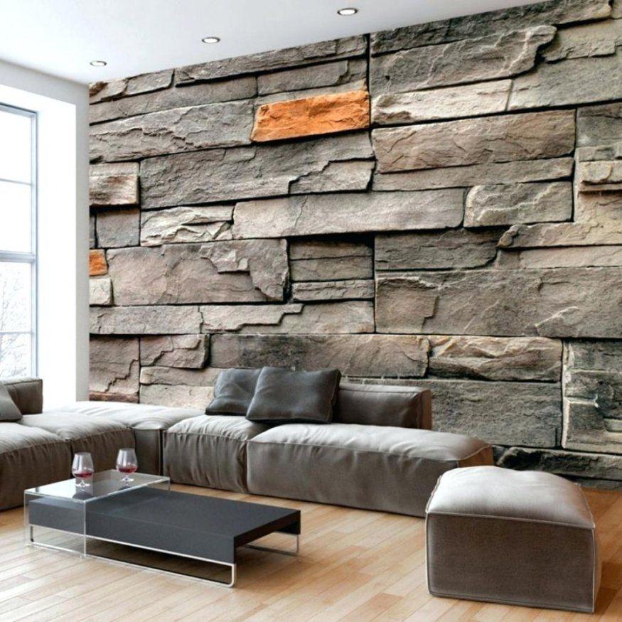 Stein Tapete Wohnzimmer Elegantes Steinwand Kinlo Tapeten 3D Obi von Stein Tapete 3D Optik Obi Bild