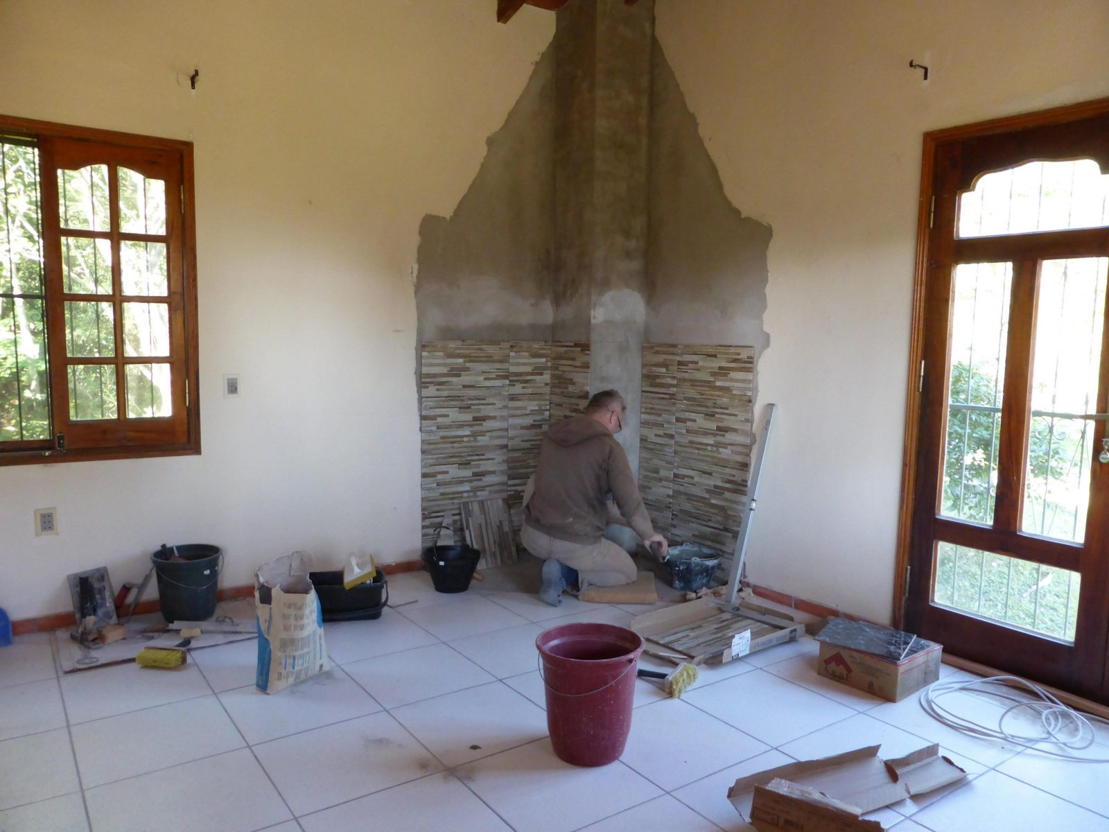 Stein Wandverkleidung Kunststein In Einem Haus Wie Wohnzimmer Ideen von Steinoptik Wand Selber Machen Photo