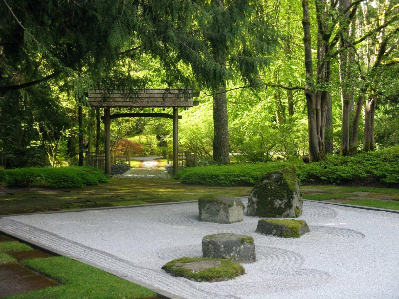 Steingarten 60 Ideen Japanischer Gartengestaltung Für Einen Avec Zen von Japanische Deko Für Den Garten Bild
