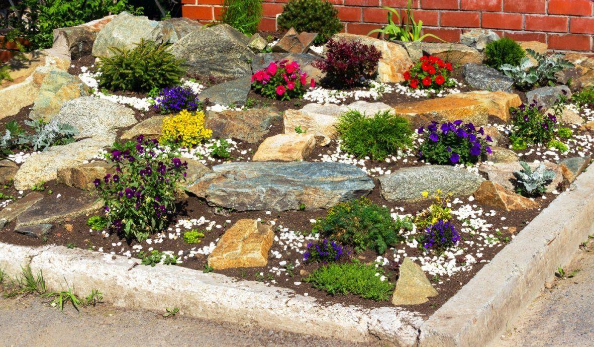 Steingarten Anlegen Ideen  Die Schönsten Einrichtungsideen von Steingarten Anlegen Mit Vlies Photo