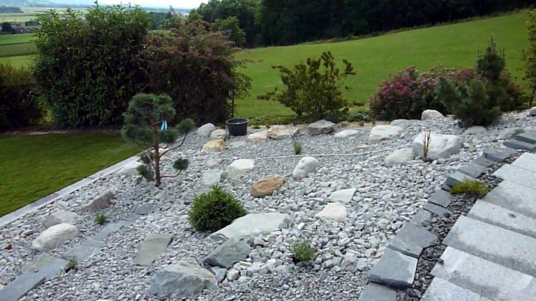 Steingarten  Youtube von Hang Anlegen Mit Steinen Bild