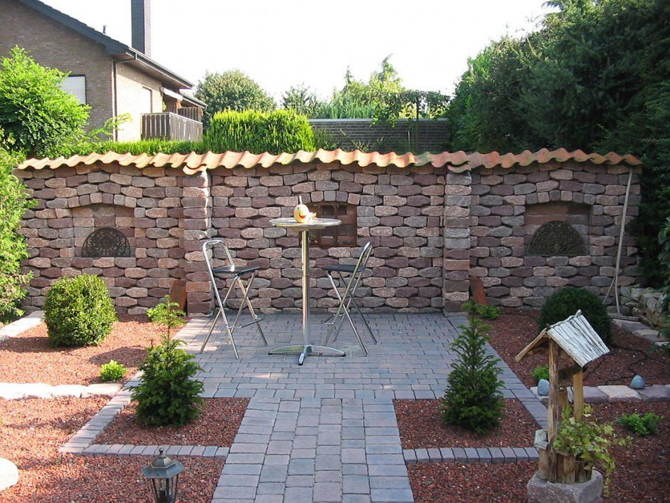 Steinmauer Im Garten Elegant Steinmauer Garten Selber Bauen von Steinmauern Im Garten Selber Bauen Photo