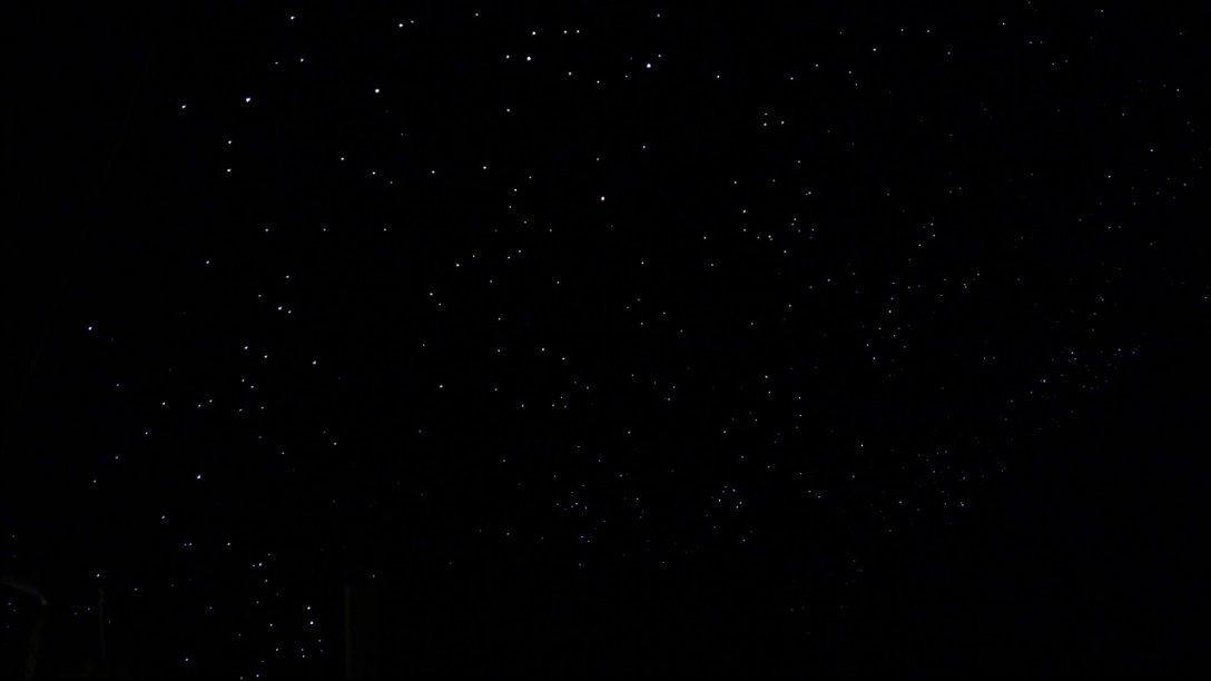 Sternenhimmel Über'm Bett (Glasfaser Diy Mit Sternschnuppe)  Youtube von Sternenhimmel Lampe Selber Bauen Bild