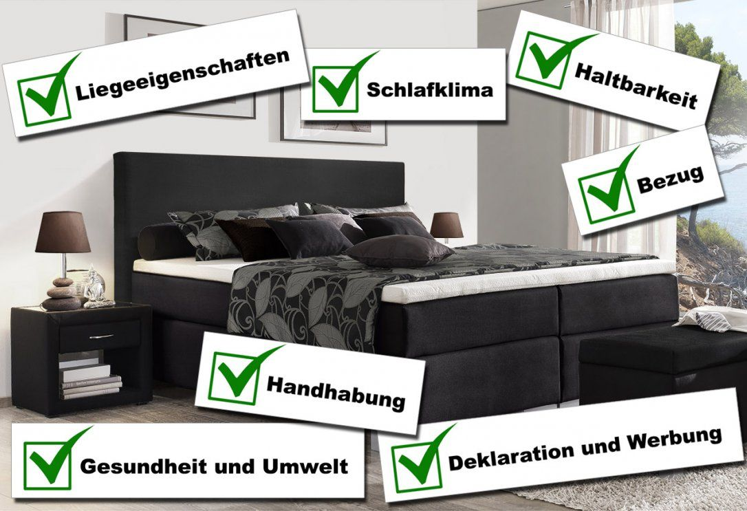 Stiftung Warentest Von Boxspringbetten In 2016  Reaktion von Boxspringbett Testsieger 2014 Photo