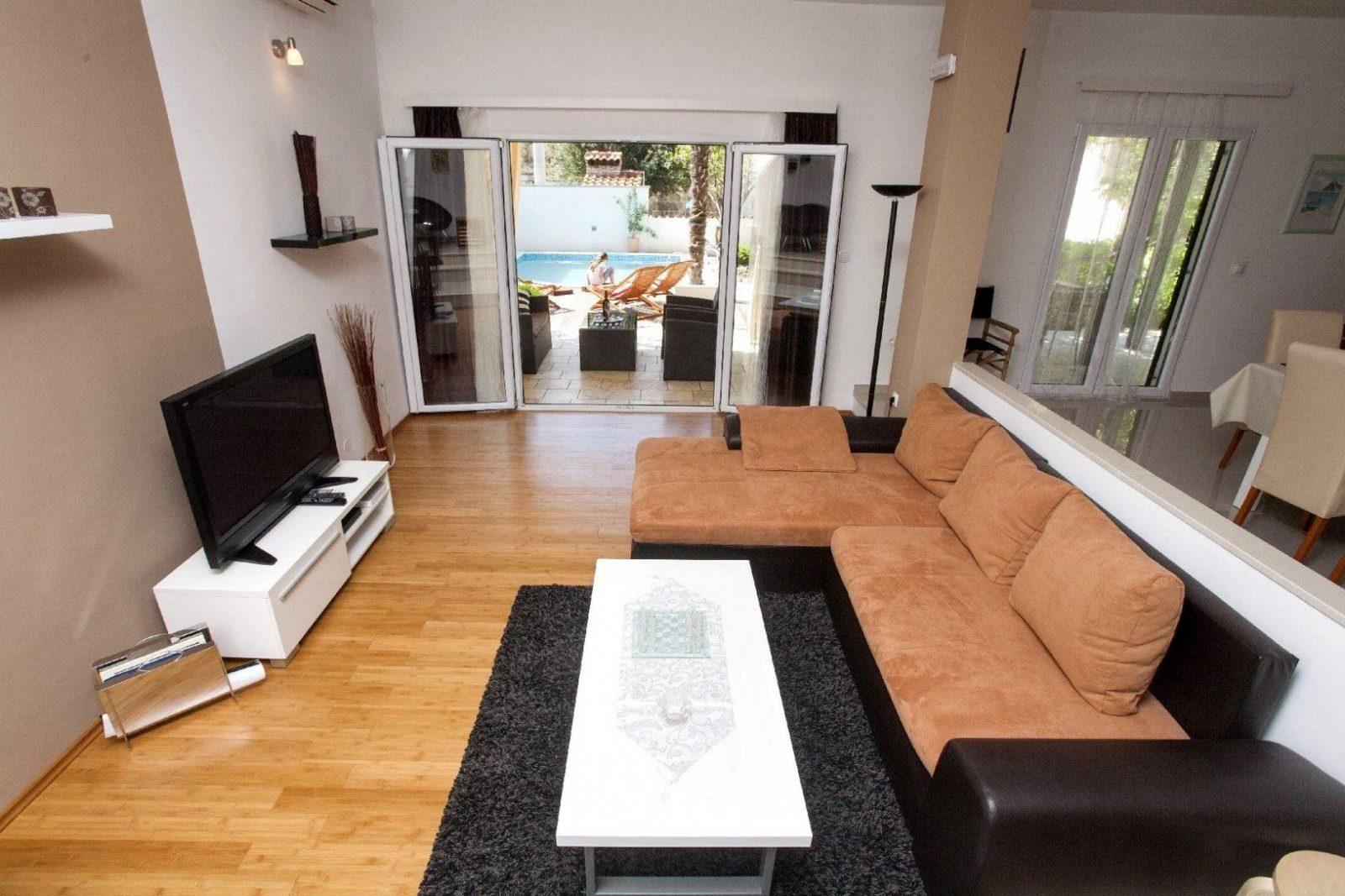Stilvoll Offene Küche Wohnzimmer Trennen Ideen 1176 von Wohnzimmer Mit Küche Ideen Photo  Haus ...
