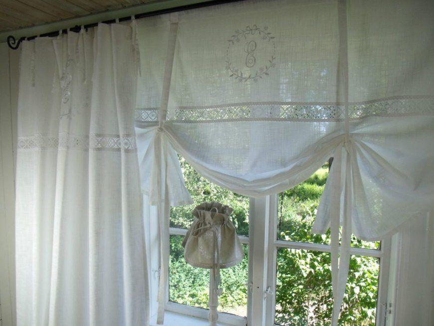Stilvoll Vorhang Landhaus Perfekt Gardinen Deko Landhausstil Blumen von Gardinen Landhausstil Meterware Bild