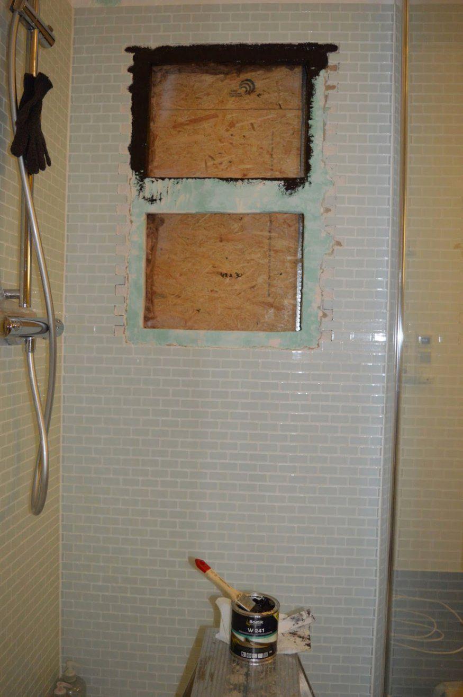 Stilvolle Ablage Für Dusche Heim Elich Dusch Ablage Nischen Mit von Ablage In Dusche Einbauen Bild