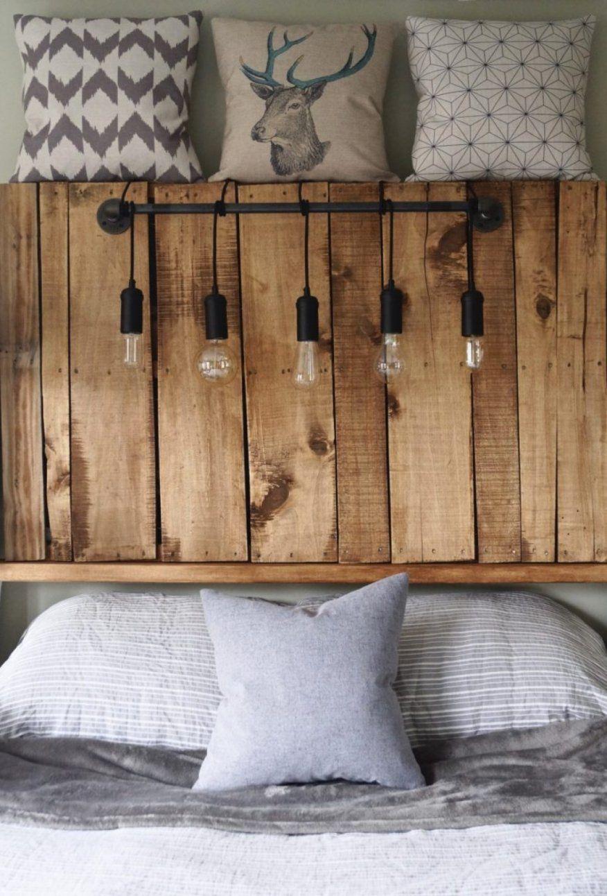 Stilvolle Bett Kopfteil Holz Kopfteil Fr Bett Aus Europaletten von Bett Kopfteil Holz Selber Bauen Photo