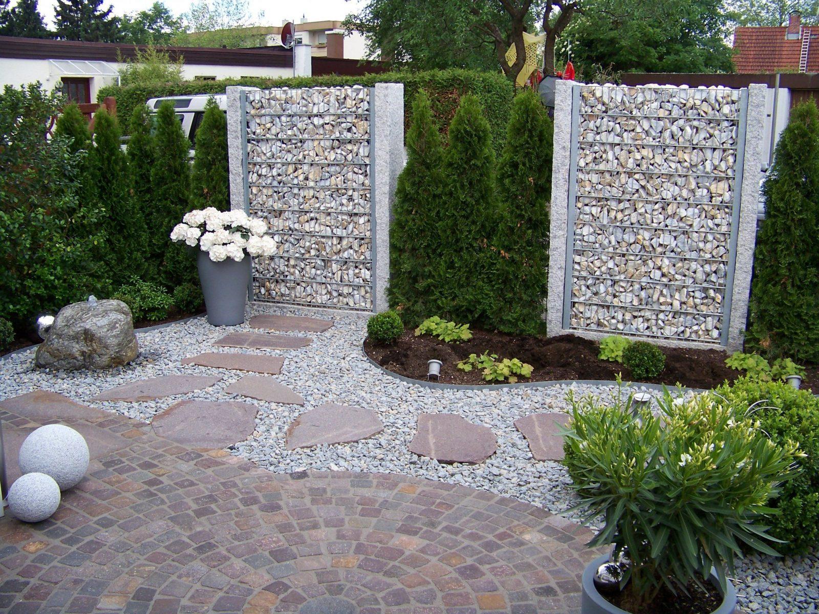 Stilvolle Gartengestaltung Am Hang Mit Steinen Gartengestaltung Mit von Gartengestaltung Mit Steinen Bilder Photo
