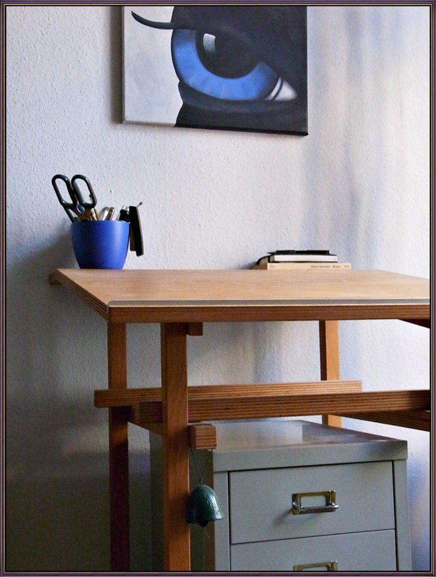 Stilvolle Höhenverstellbarer Schreibtisch Selber Bauen Schreibtisch von Höhenverstellbarer Schreibtisch Selber Bauen Photo