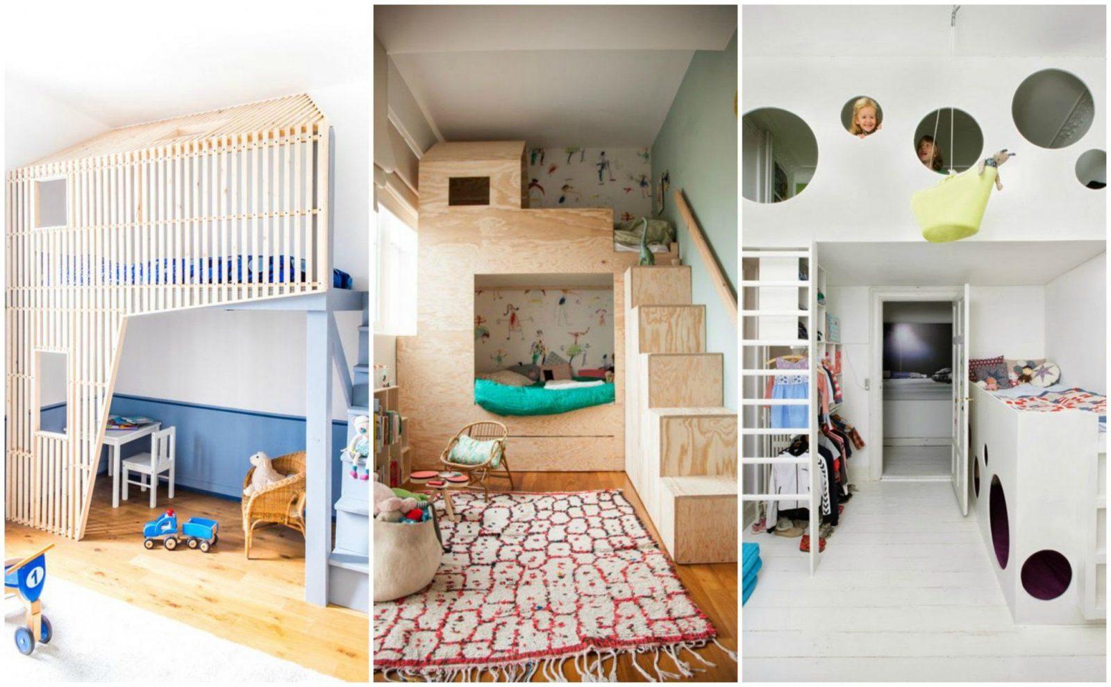 Stilvolle Kleine Kinderzimmer Optimal Einrichten Hochbett Ideen von Kleine Kinderzimmer Optimal Einrichten Photo
