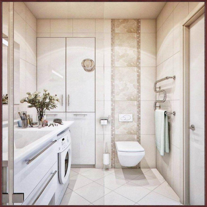 Stilvolle Kleines Bad Fliesen Bis Zur Decke Badezimmer Badezimmer von Badezimmer Klein Modern Photo