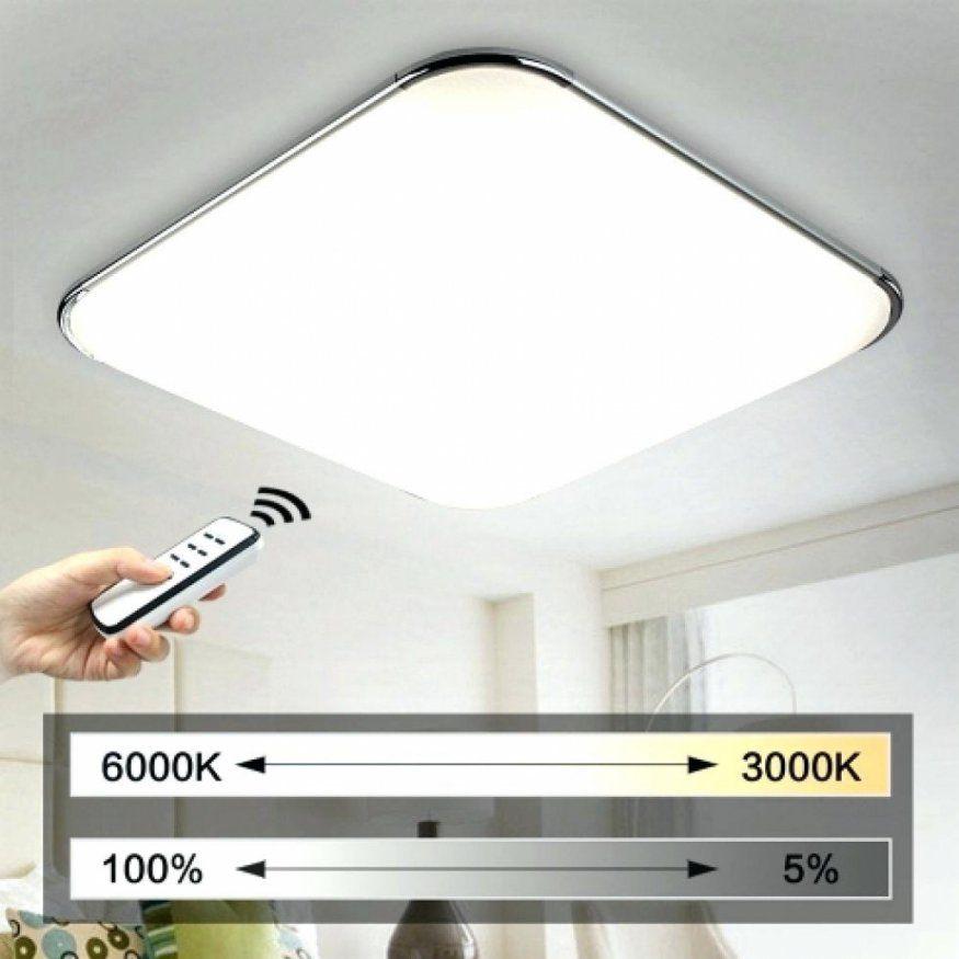 Stilvolle Led Deckenleuchte Flach Deckenlampe Wohnzimmer Led 39 von Led Deckenleuchte Für Wohnzimmer Bild