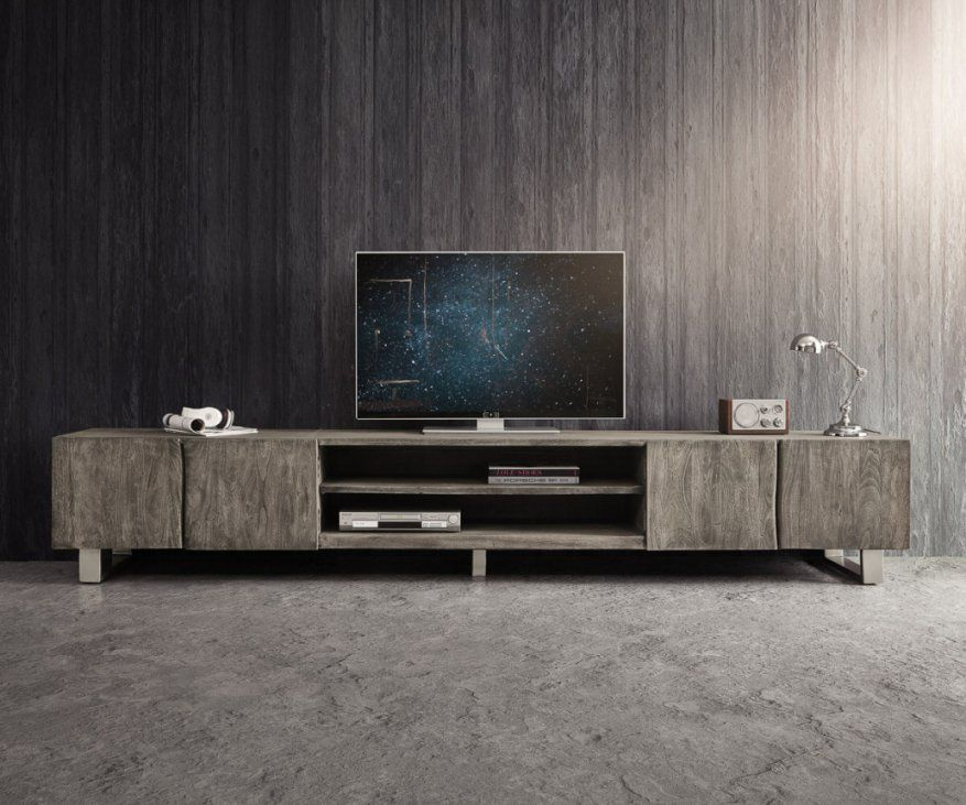 Stilvolle Lowboard 300 Cm Tv Low Board Lowboard Industrial With Tv von Tv Lowboard 300 Cm Bild