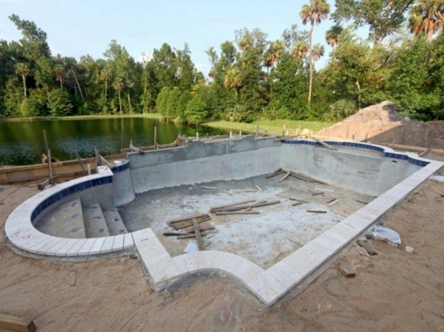 Stilvolle Pool Selber Bauen Holz Spannende Pool Aus Holz Selber von Kleiner Pool Im Garten Selber Bauen Bild