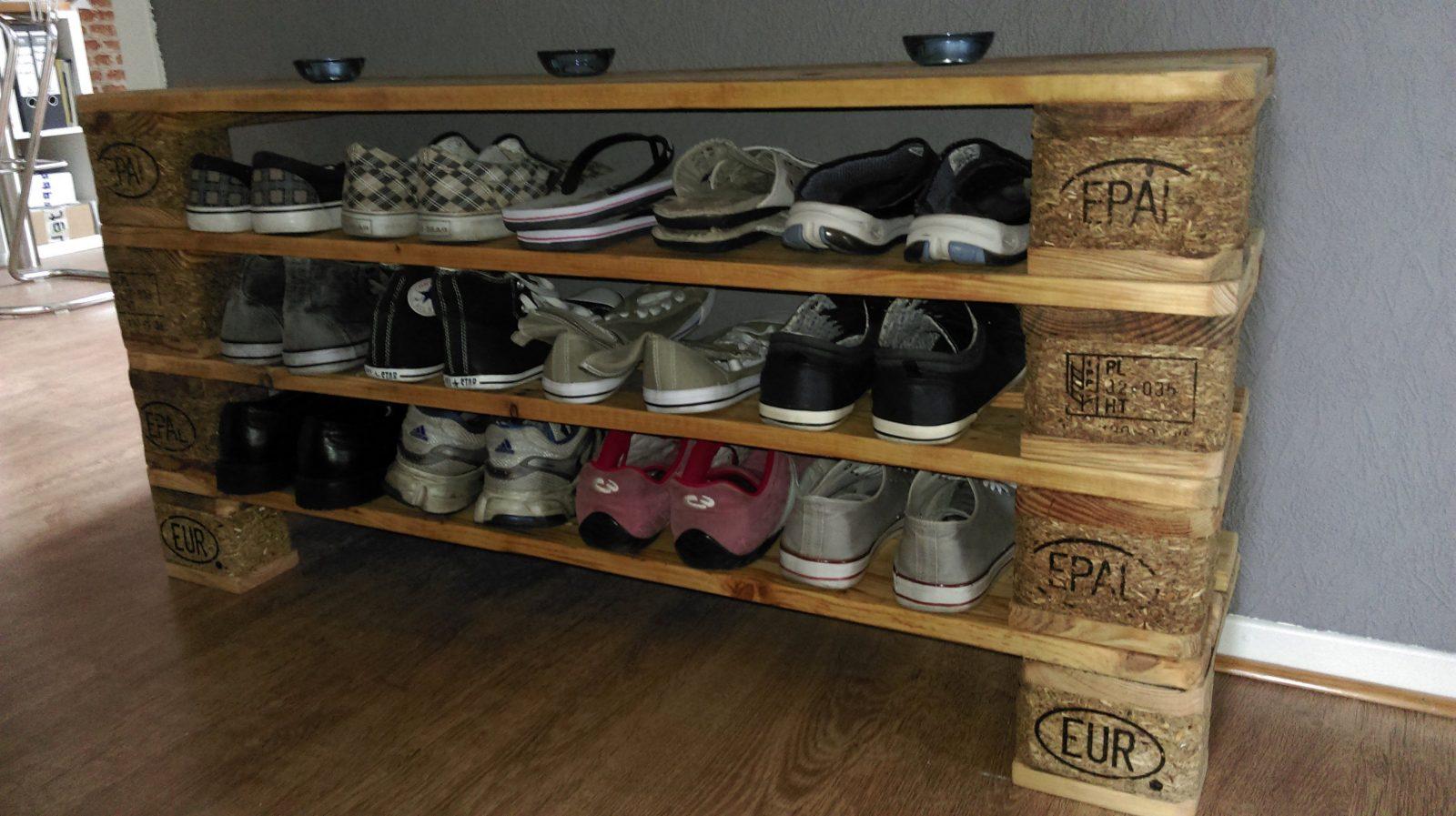 Stilvolle Schuhregal Selber Machen Schuhregal Aus Holz Selber Bauen von Schuhregal Selber Bauen Bauanleitung Bild