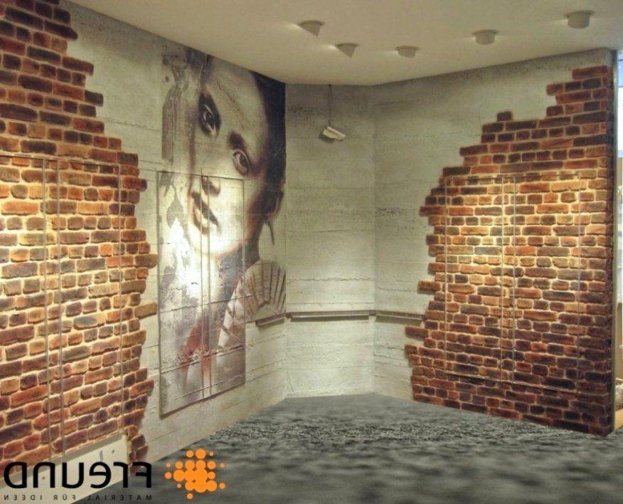 Stilvolle Wand In Steinoptik Selber Machen  Moderne von Steinoptik Wand Selber Machen Bild