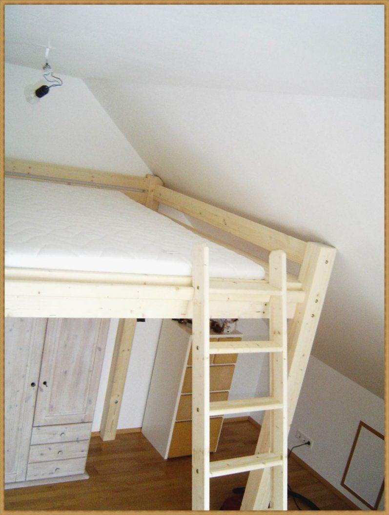 Stockbett Selber Bauen Wunderbar Kreativ Hochbett Aus Holz Selber von Leiter Für Hochbett Selber Bauen Bild