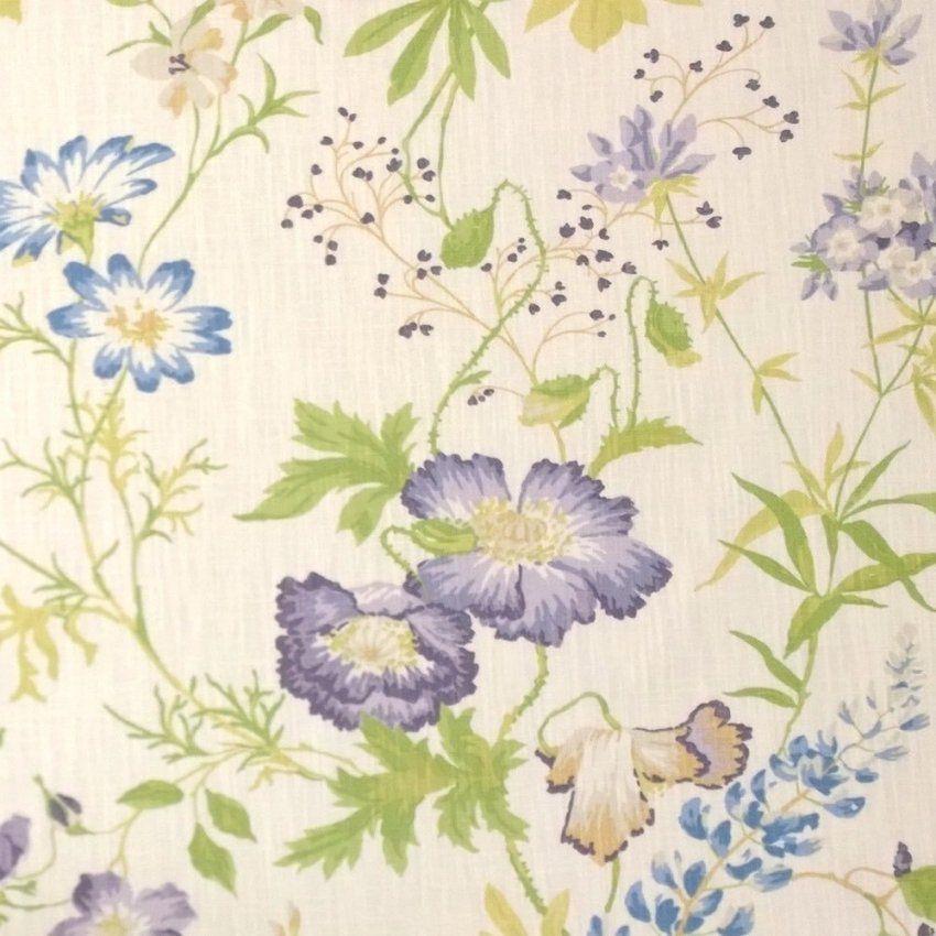 Stoff Neisha Lavendernatural Von Laura Ashley  Arte Fresca von Laura Ashley Stoffe Meterware Photo