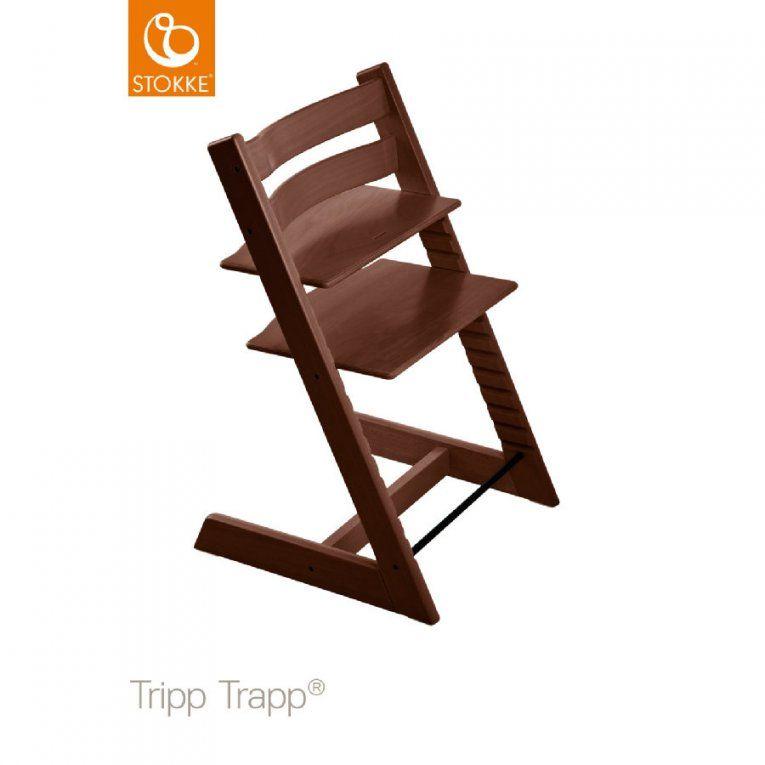 Stokke® Tripp Trapp® Hochstuhl Buche Walnussbraun  Babymarkt von Stokke Tripp Trapp Braun Bild
