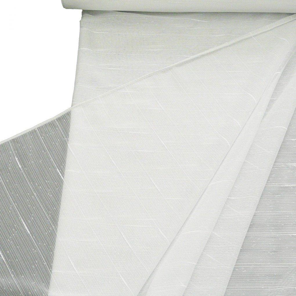 Stores Grob Mit Bleiband Weiß 180Cm Hoch Gardinenstoffe Transparente von Gardine 180 Cm Hoch Bild
