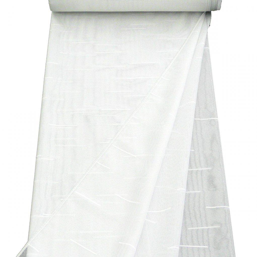 Stores Grobe Drehergardine Mit Sable Weiß 180Cm Hoch Gardinenstoffe von Gardine 180 Cm Hoch Photo