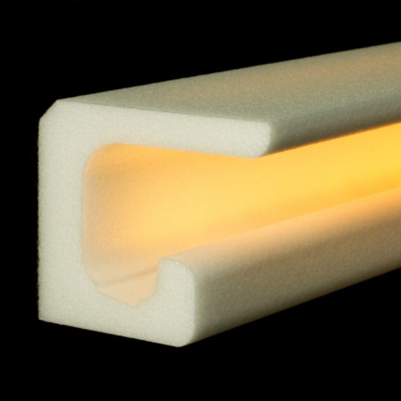 Stuck Ledbeleuchtung Profil Zierprofil von Stuckleiste Für Indirekte Beleuchtung Bild