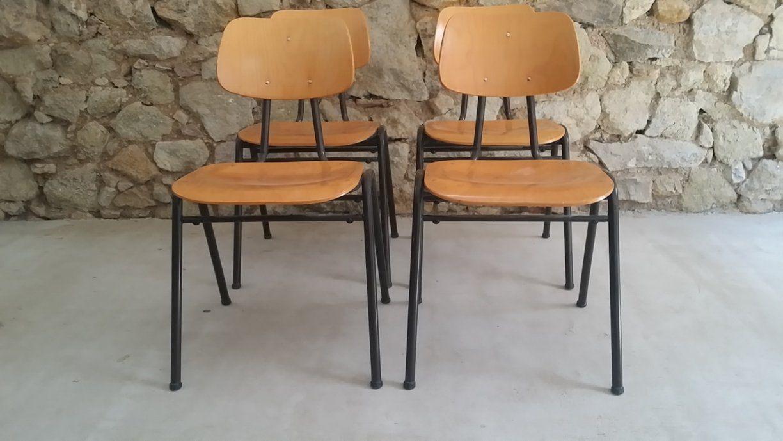 Stühle Aus Bibliothek Schulstühle Stapelstühle Vs (1 V 10)  Design von Stühle Für Gastronomie Gebraucht Bild