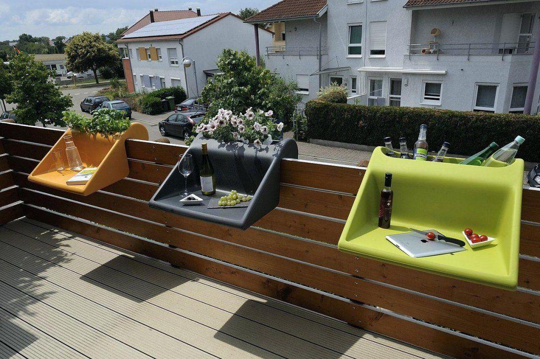 Balkongelander Tisch Balkonmabel Fa 1 4 R Kleinen Balkon