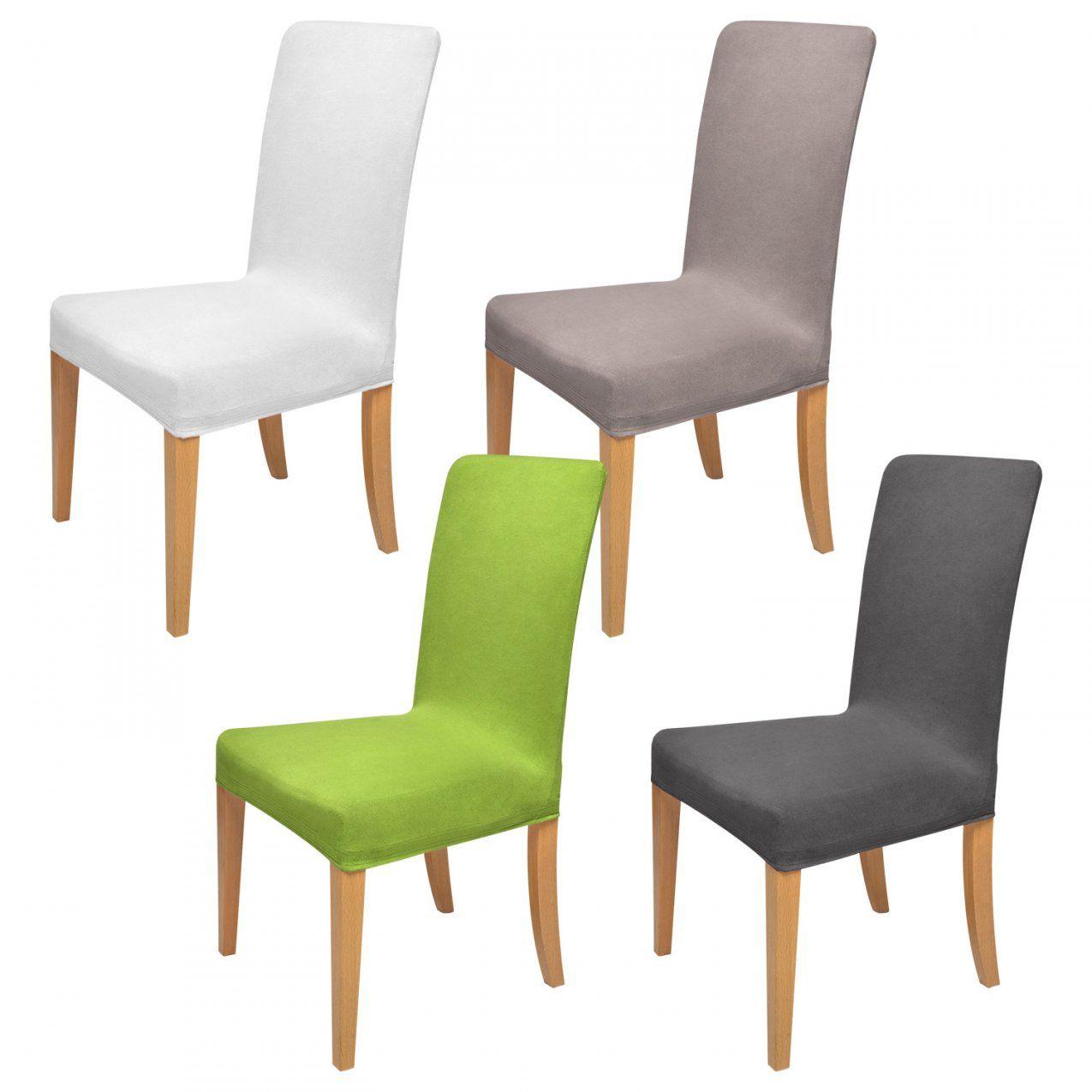 Stuhlhussen Für Sitzmöbel  Shop Hussendiscount von Stuhlhussen Stretch Günstig Kaufen Bild