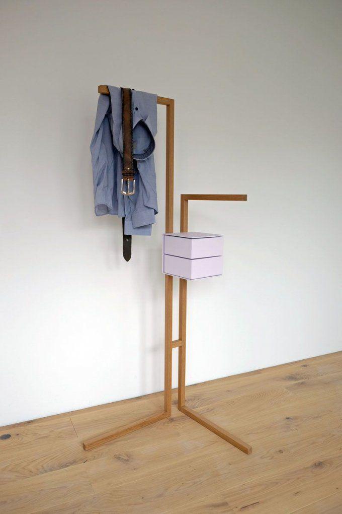 Stummerdiener1 800×1200 Pixel  Möbel  Pinterest von Kleiderständer Holz Selber Bauen Photo