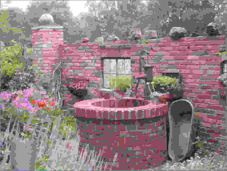 Stunning Garten Steinmauer Selber Bauen Gallery House Ist Luxus von Sichtschutz Aus Stein Selber Bauen Photo