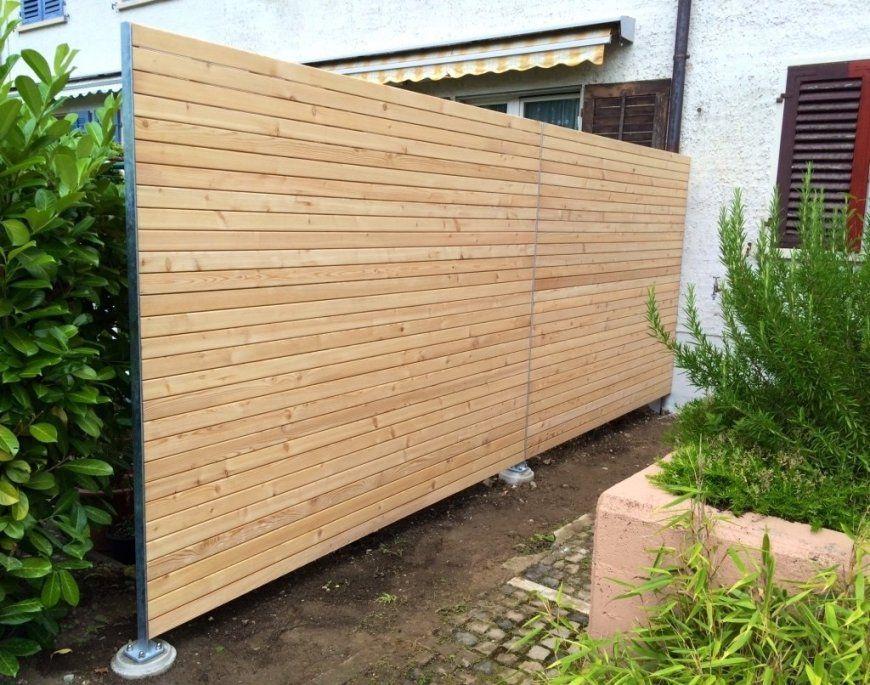 Stunning Idea Holz Sichtschutz Selber Bauen Balkon Zaun von Sichtschutz Selber Bauen Holz Photo